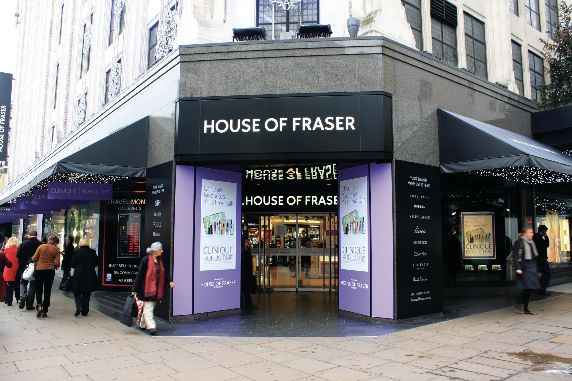 House Of Fraser Enters Administration