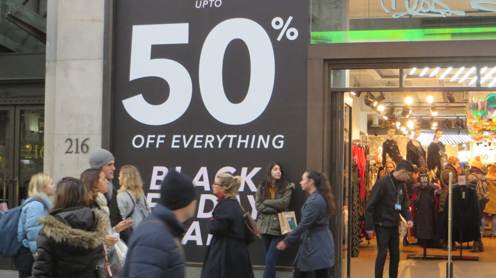 Uk Black Friday Sales To Jump