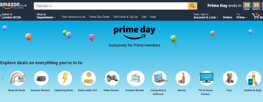 Amazon Reveals Prime Day Fashion Discounts