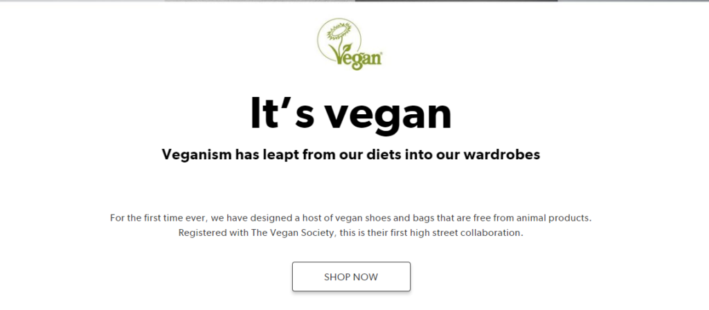 New Look launches vegan range