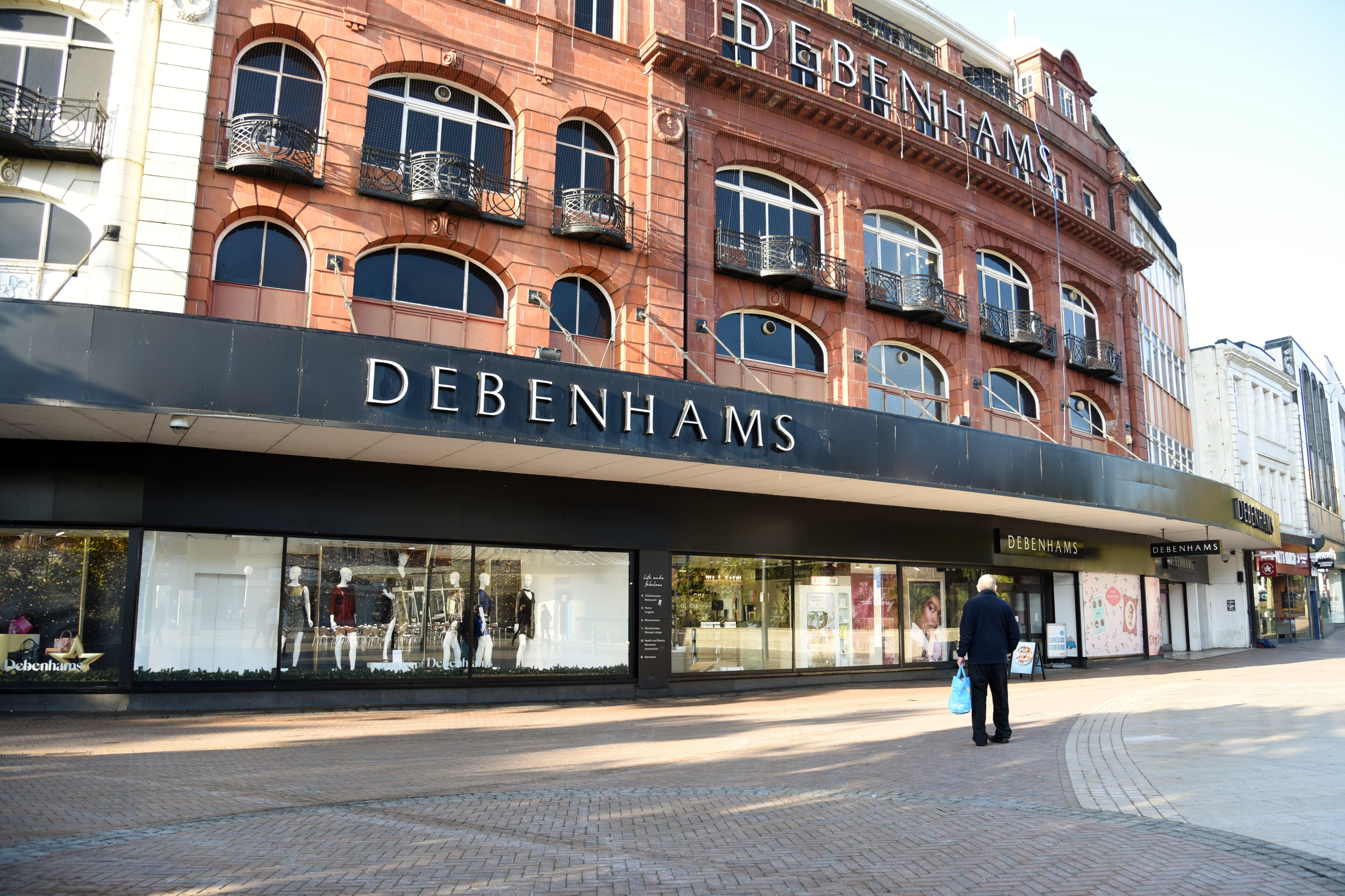 Debenhams parent group in administration: what customers
