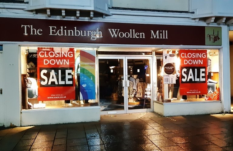 Ewm Group Staff In The Dark As Some Stores Close