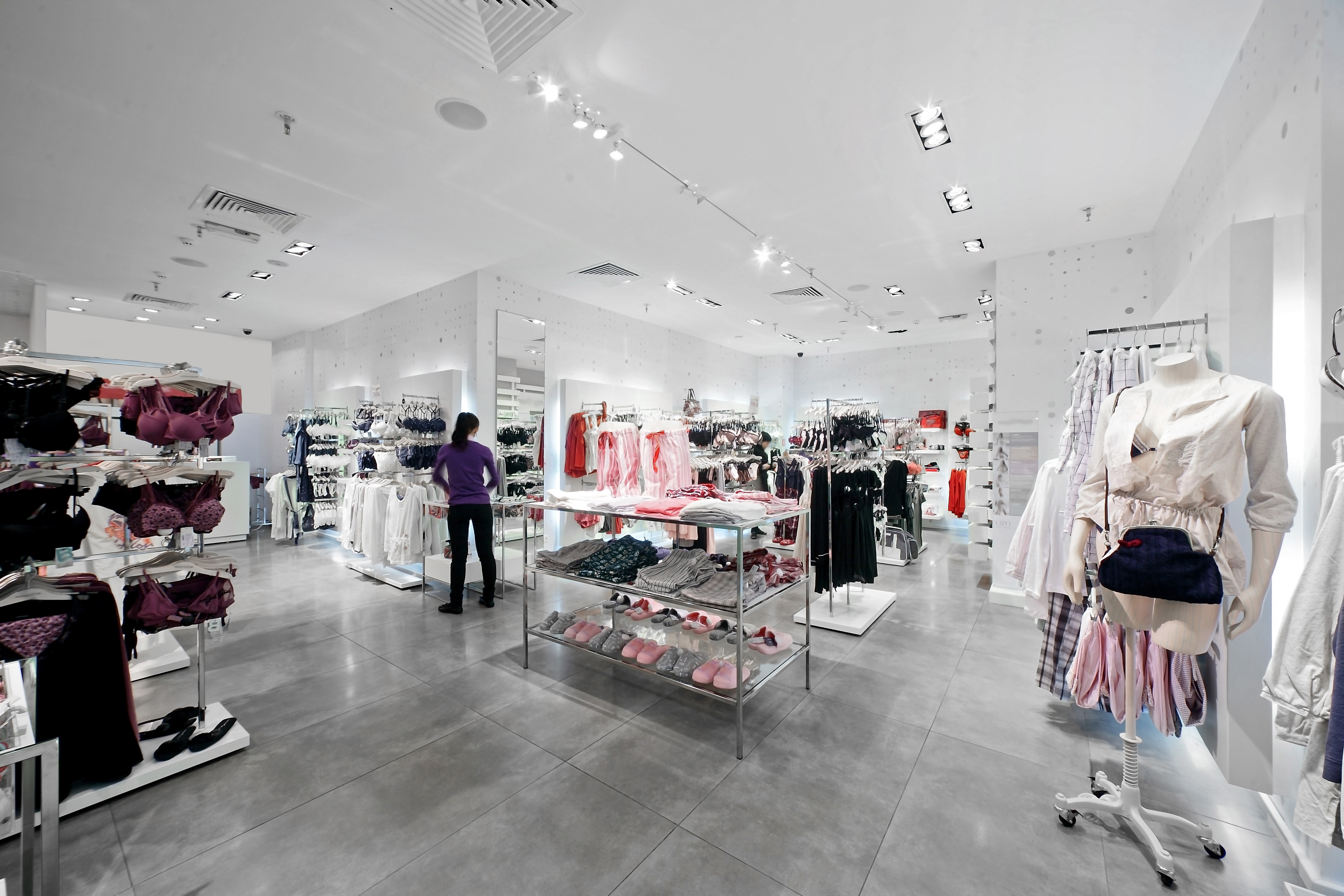 Analysis of in-store shopping behaviour shows that underwear – though almost never the primary shopping aim – is one of the highest-selling items, as shoppers serendipitously enter the department