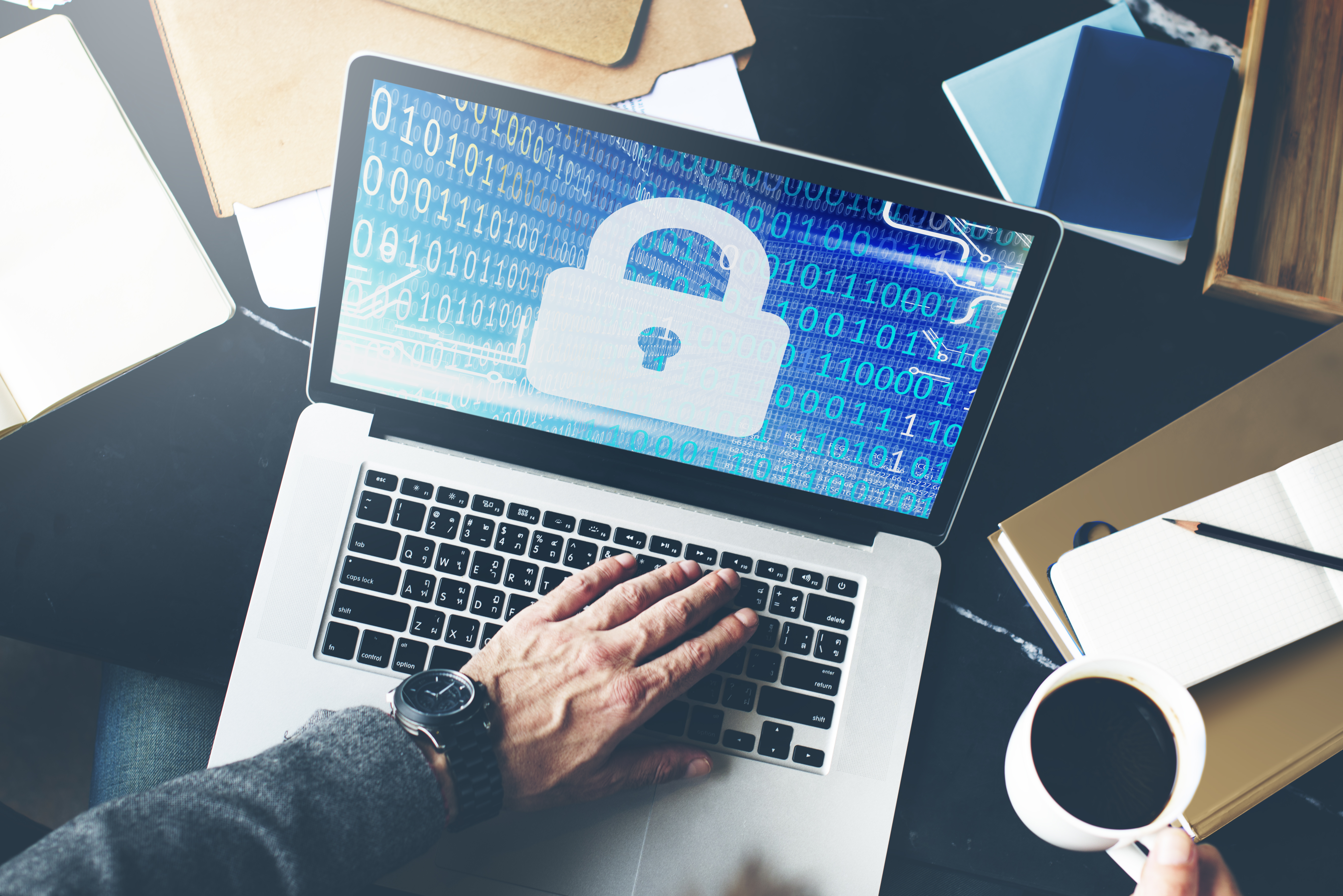 Security of their data is another concern for customers