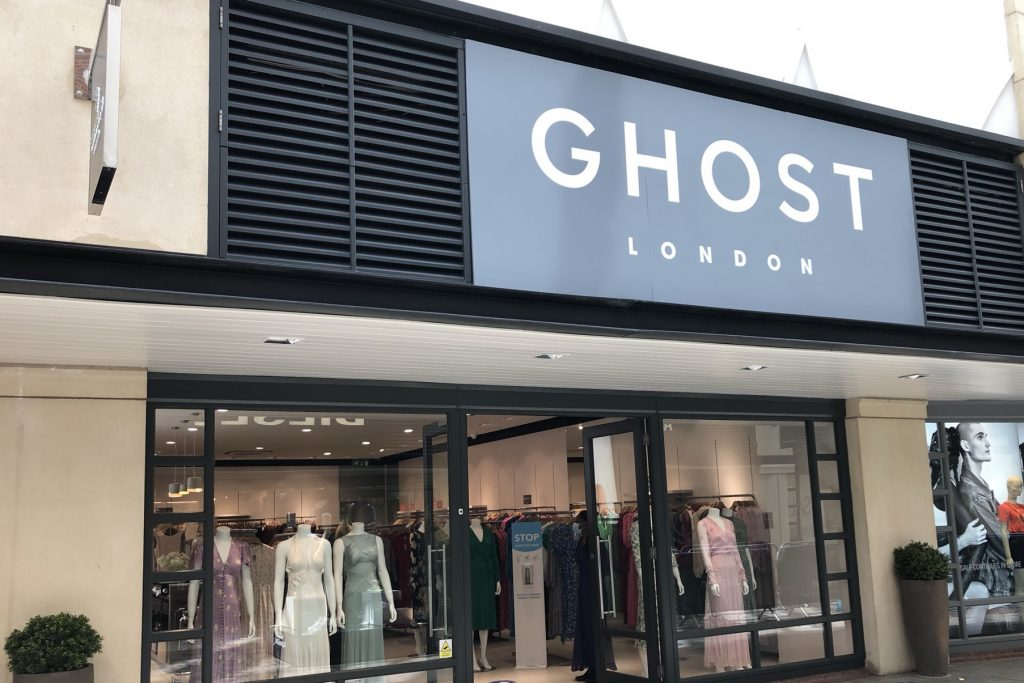Ghost London opens outlet store