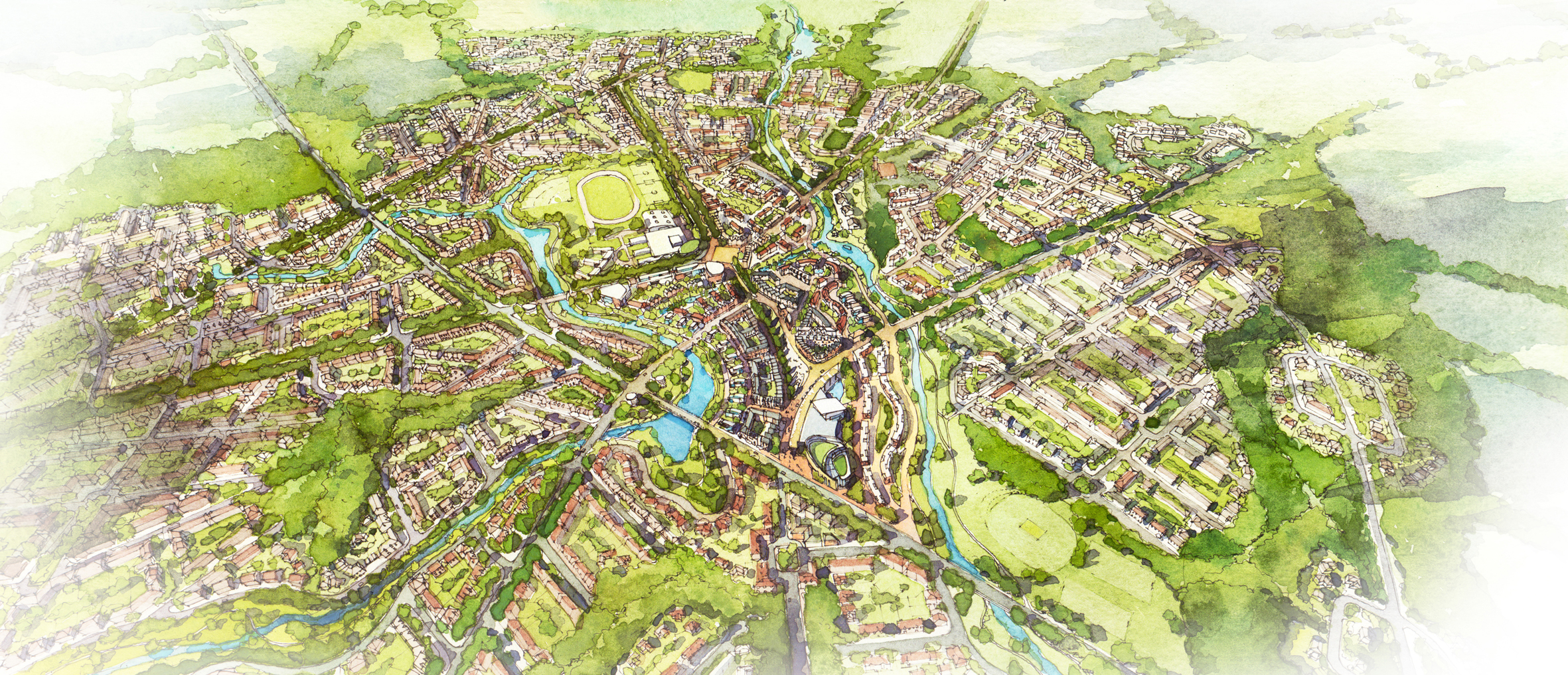 wolfson prize garden cities wei yang and partner's arc of new homes