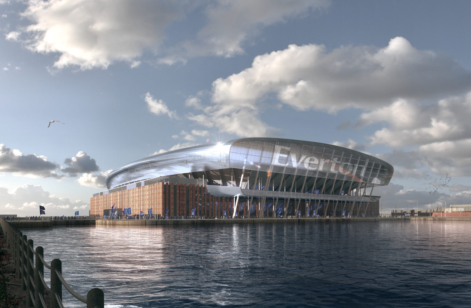 Meis Architects Unveils Design Of Everton Fc S New Stadium