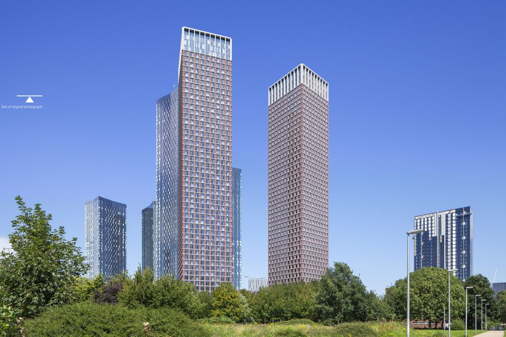 Hodder + Partners' Manchester towers win council's approval