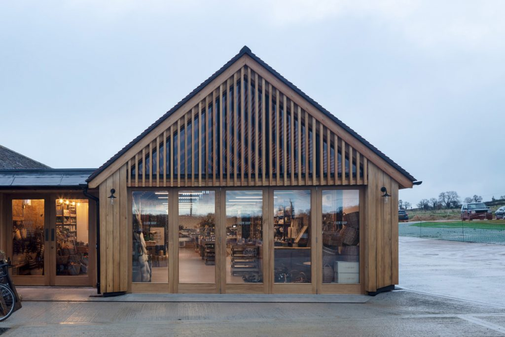 Moxon completes farm shop at Hauser & Wirth Somerset