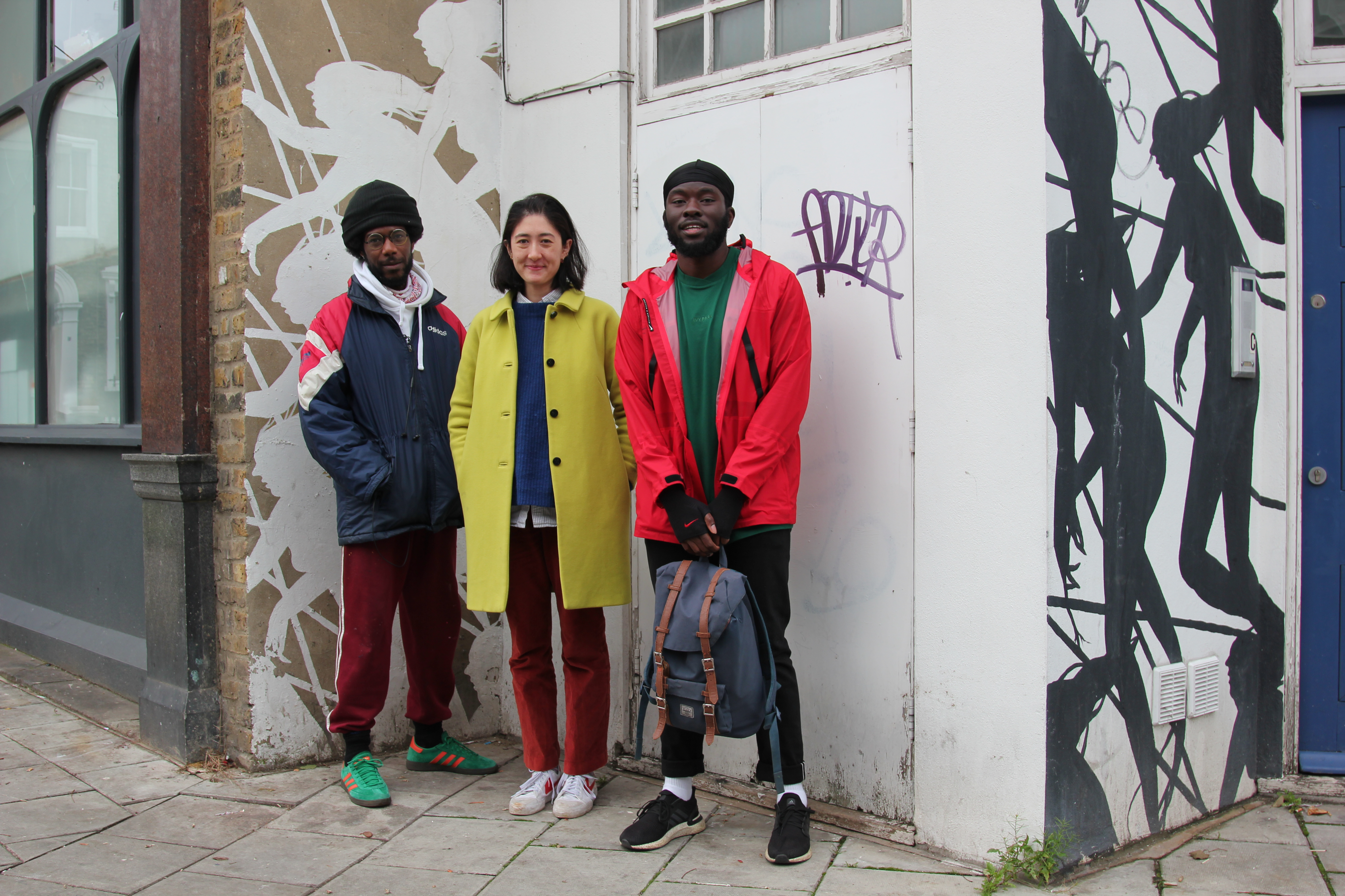 Bamidele Awoyemi, Farouk Agoro & Livia Wang