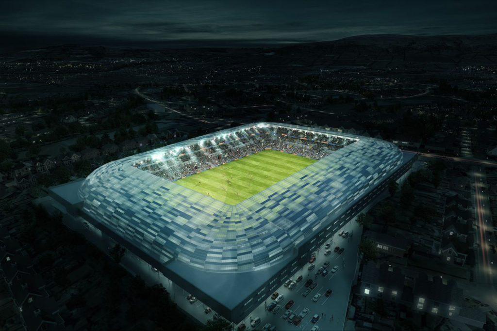 Populous's long-awaited Belfast stadium gets the green light