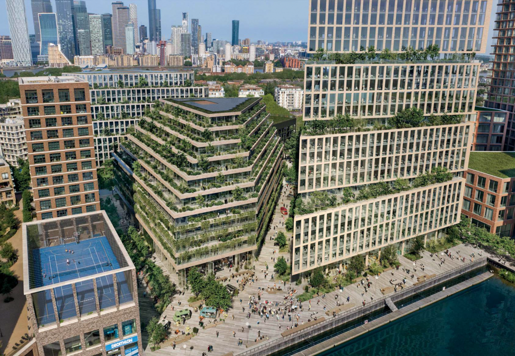 BIG replaces Chipperfield on south London tower scheme