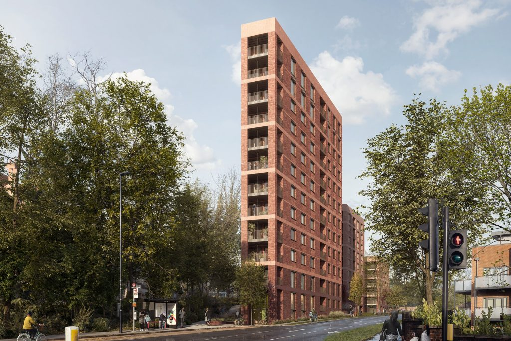 Formation's Croydon flats approved after height reduction