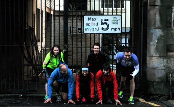 Edinburgh Running Tour