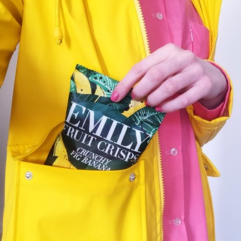 Banana pack rain jacket