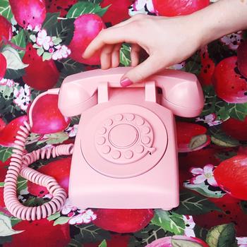 Apple pattern phone