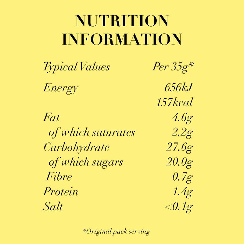 Nutritionals banana 2017