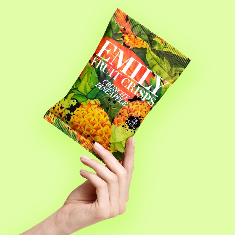 Pineapple pack hand green