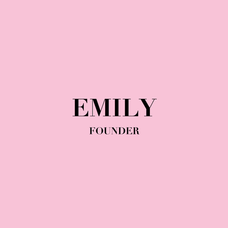 Emily name occupation
