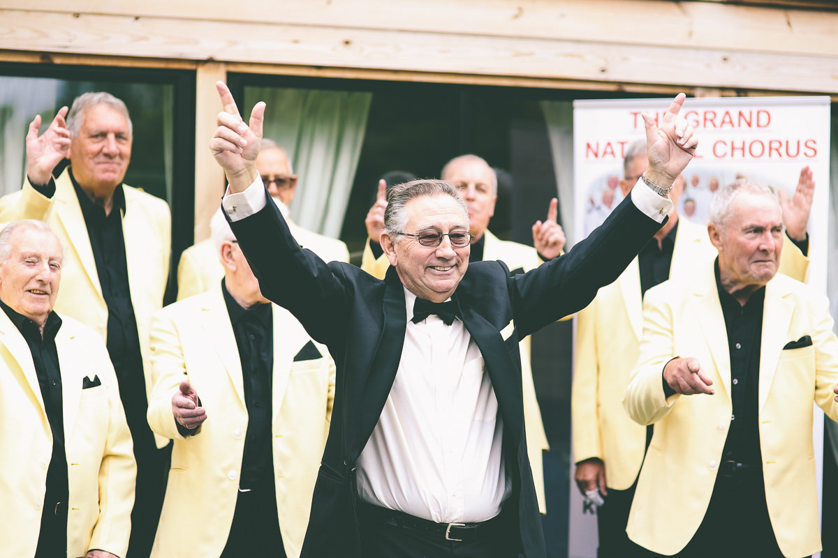 Barbershop Choir Wedding
