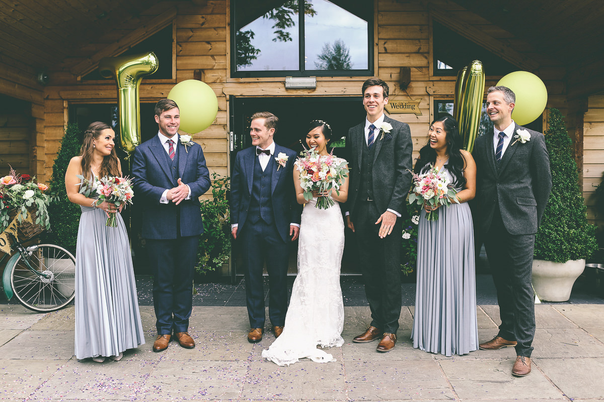 Bridal Party Styal Lodge