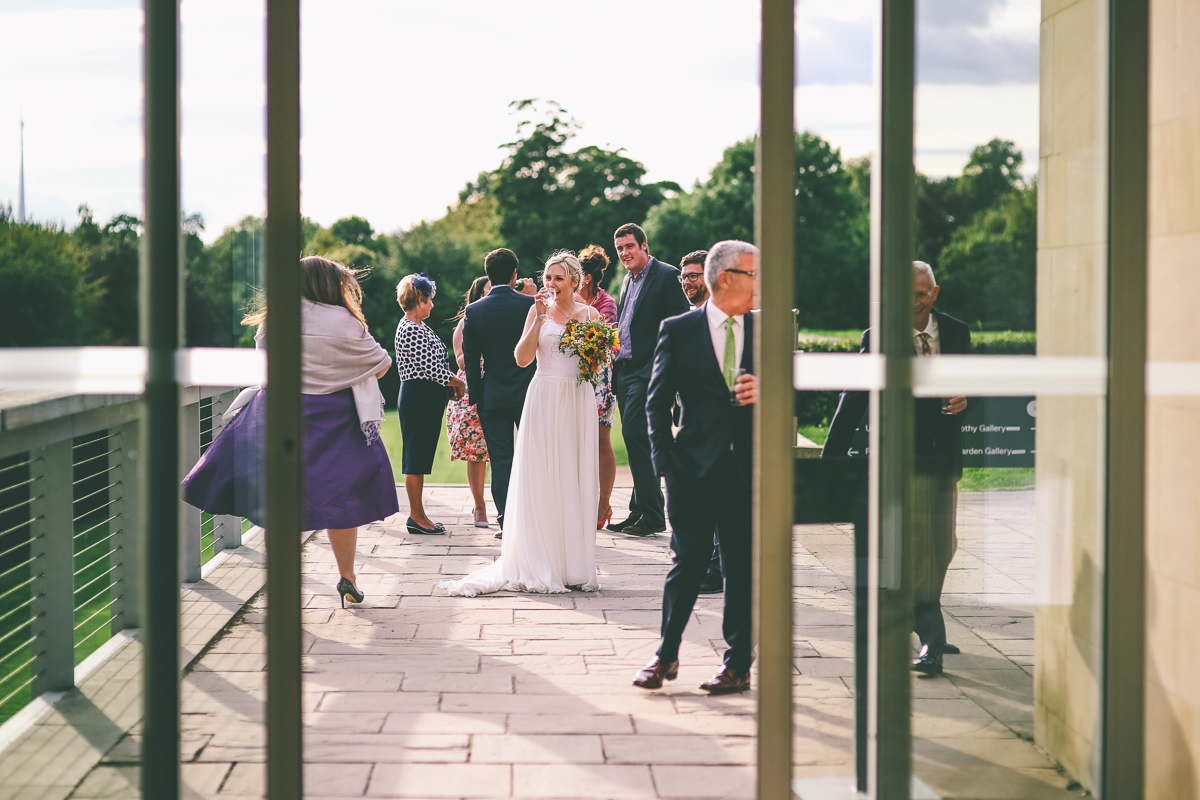 Yorkshire Sculpture Park Wedding Photography