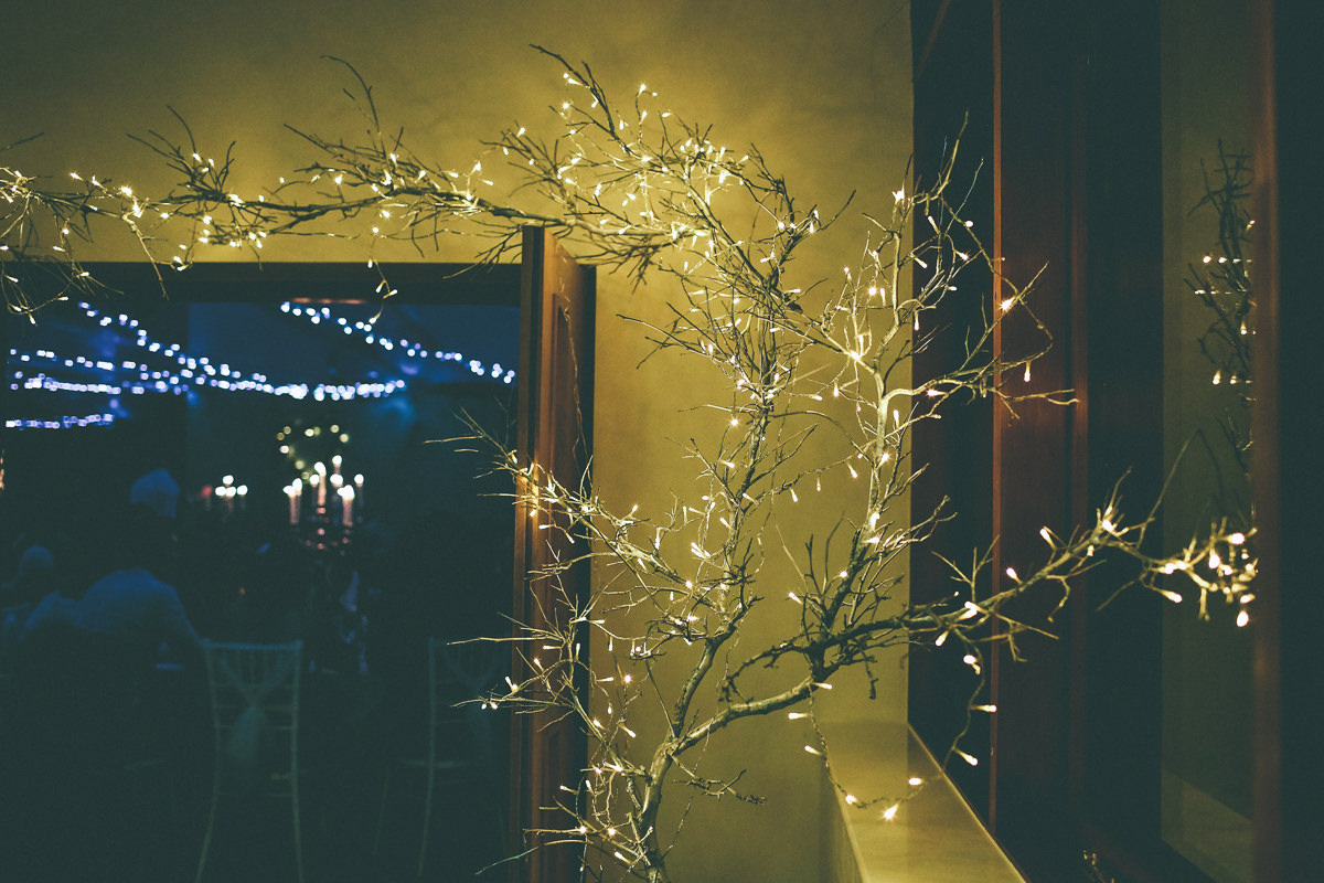 Winter Fairy Lights Wedding
