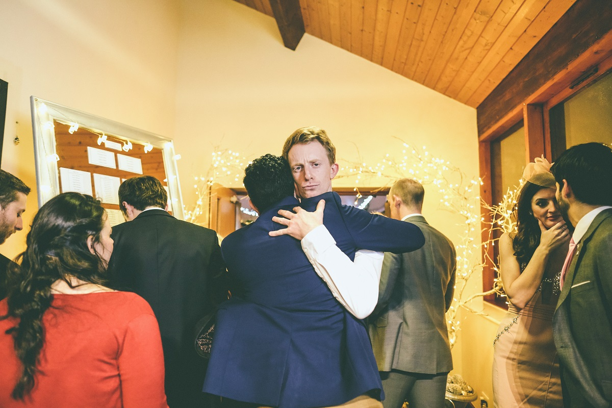 Chilling Village Hall Winter Wedding