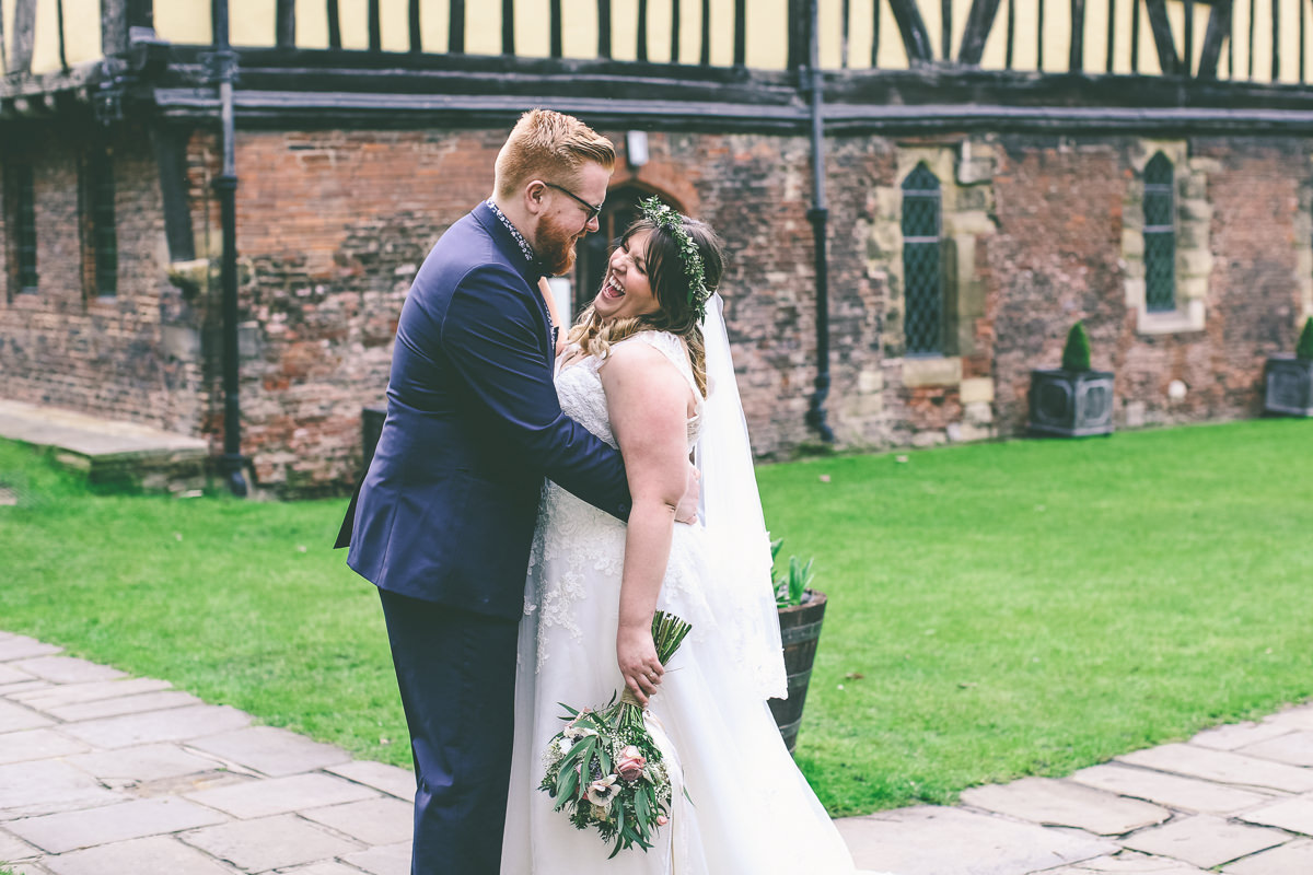 Merchant Adventurers Hall Spring Wedding