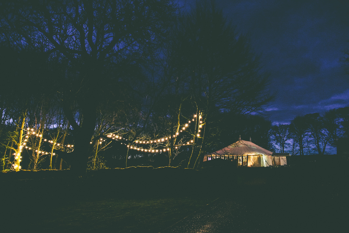 Peak District Marquee Wedding