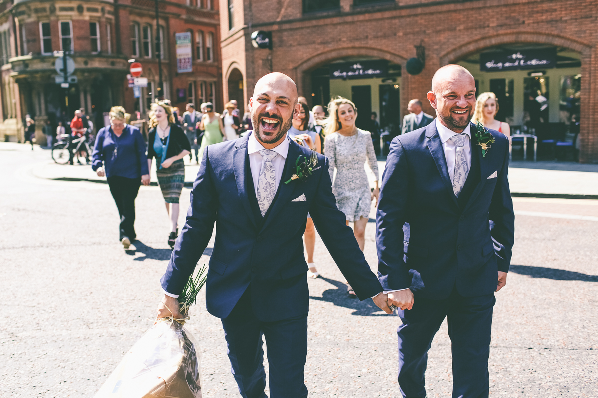City Centre Wedding in Manchester