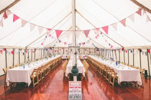 Festivla Wedding Marquee Decor