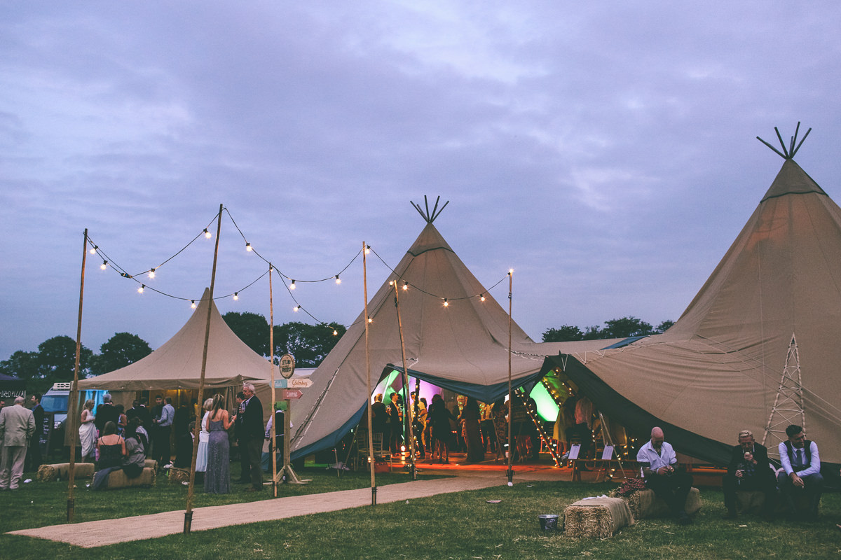 Summer Festival Wedding Delamere