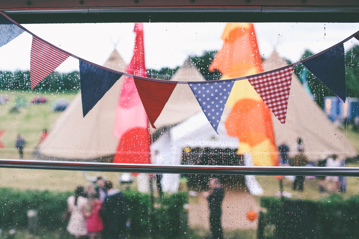 DIY Festival Wedding