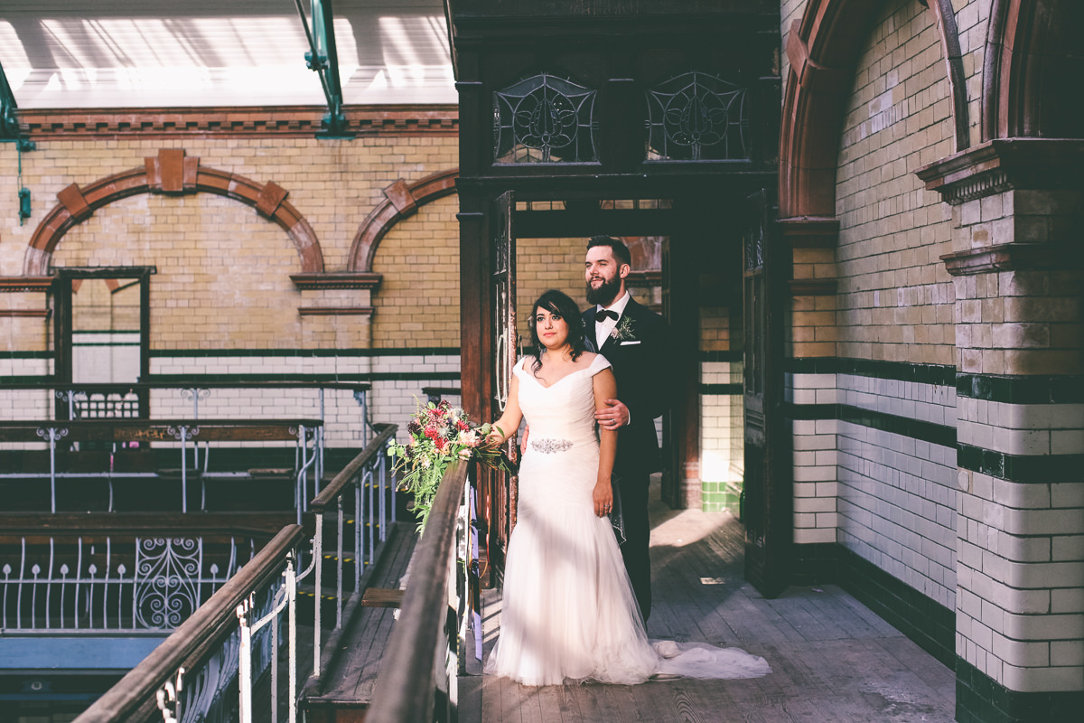 Manchester Victoria Baths Wedding