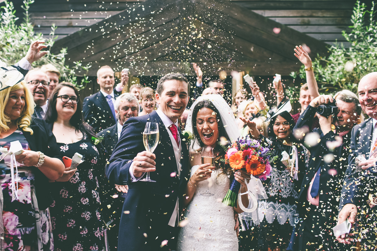 Wedding Confetti Photograph