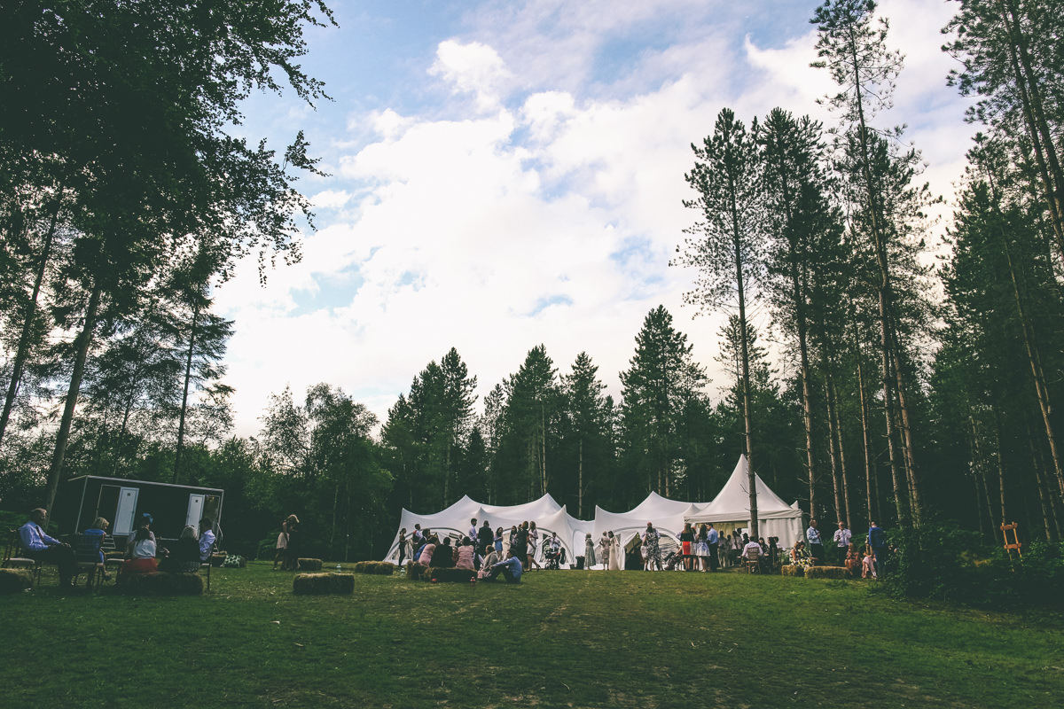 Woodland Wedding Delamere Forest