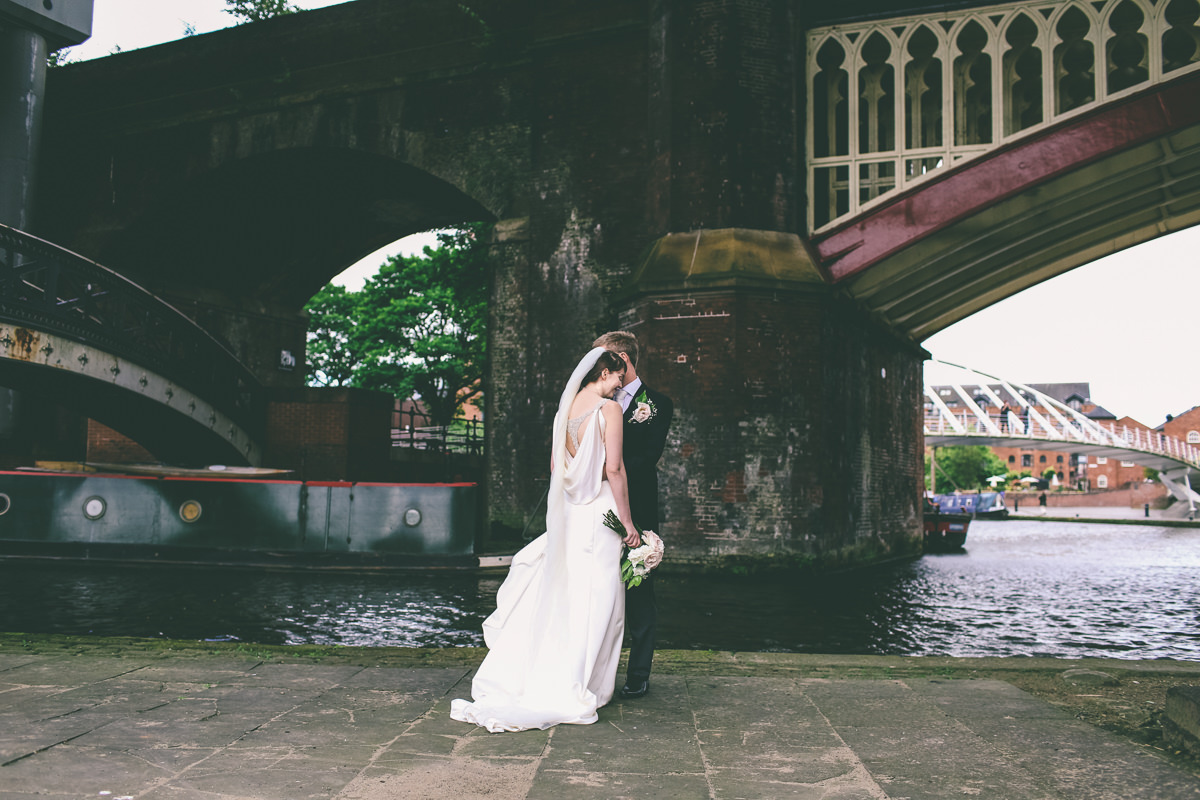 Manchester Castlefield Wedding Photography