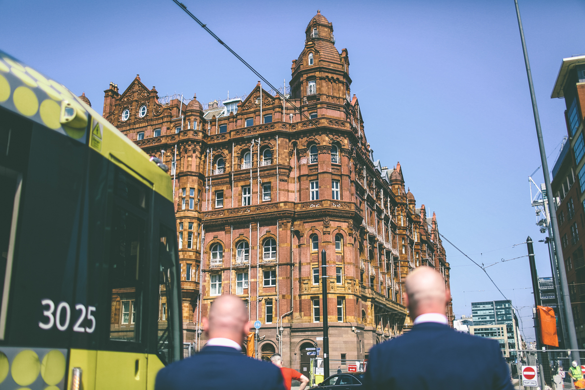 Manchester intimate Wedding