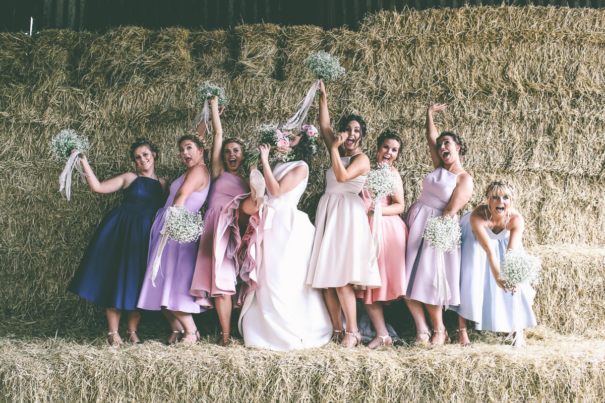 Summer Bridal Party