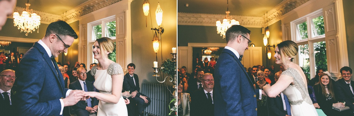 Didsbury House Hotel Winter Wedding