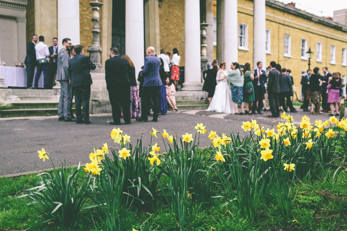 London Spring Wedding