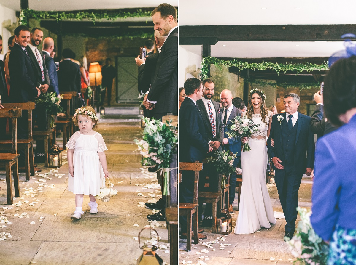 Brympton House Wedding Ceremony