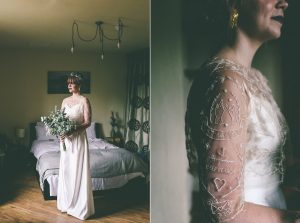 Embroidered Wedding Outfit
