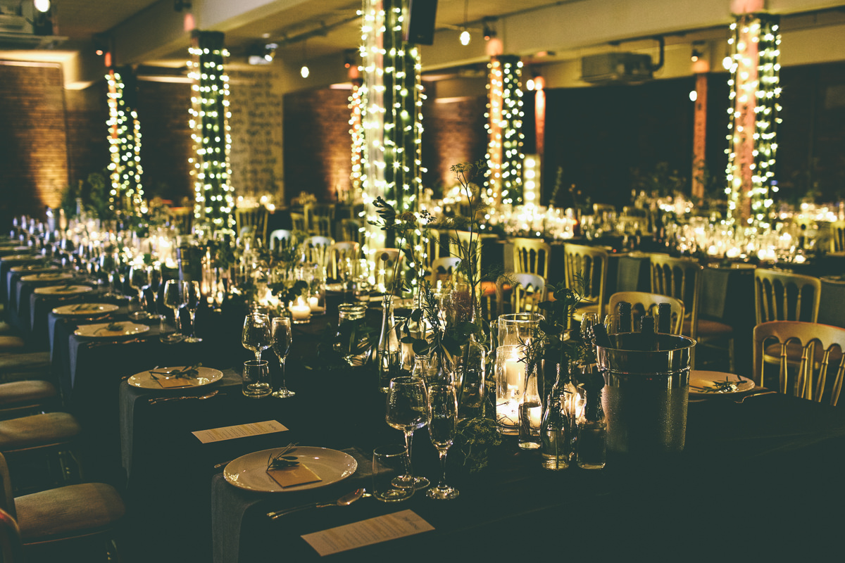 Victoria Warehouse Wedding Reception