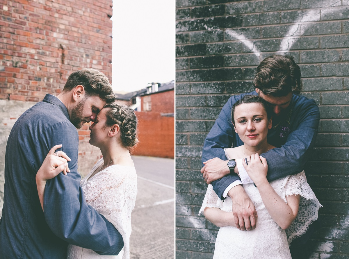 Cool Urban Wedding Portraits