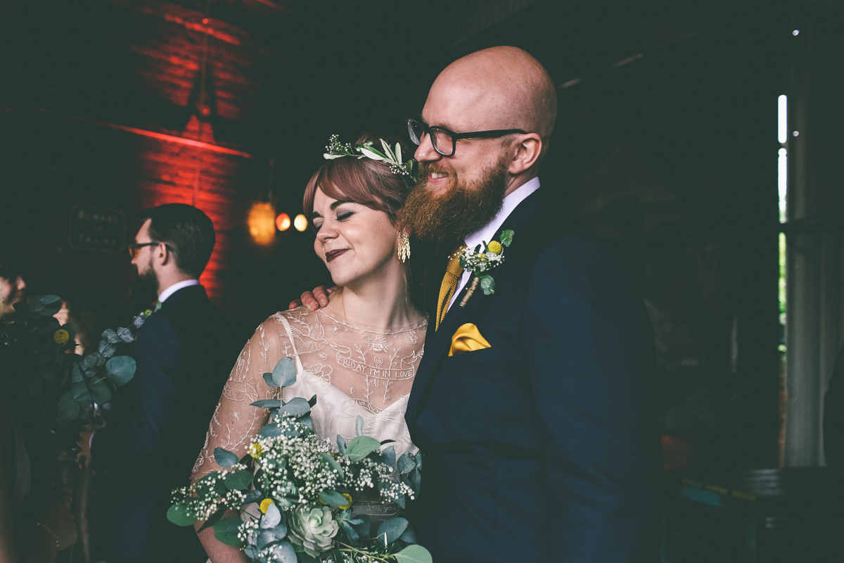 Victoria Warehouse Wedding