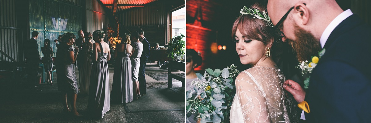 Victoria Warehouse Summer Wedding