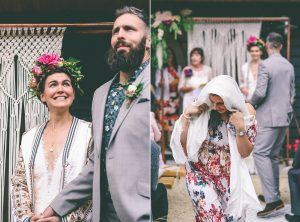Humanist Back Garden Wedding