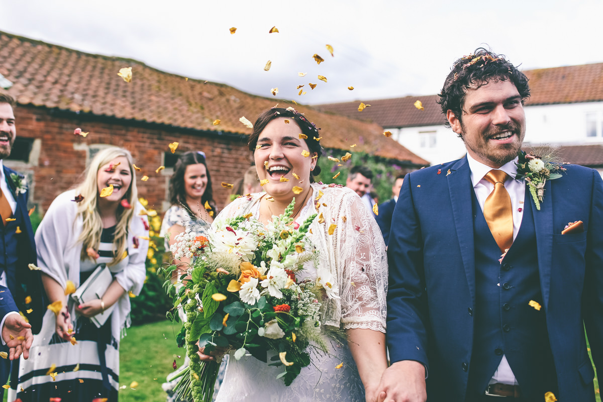 Deighton Lodge Wedding Confetti